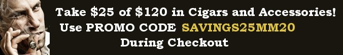 Save $20 with purchases of $120 or more - when you Buy Cigars Online at Cigar Smoke Shop
